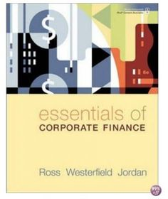 Download Test Bank Online for Essentials of Corporate Finance
