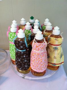 Love this Bridal Shower Favor!!! Could probably sub with hand soap?