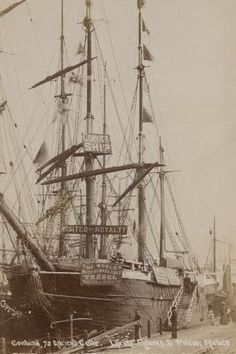 Photographic Print: Prison Ship Success : 24x16in Old West Photos, Old Sailing Ships, Ship Art, Tall Ships, Prison, Vintage Photos, Find Art, Framed Artwork, Genealogy