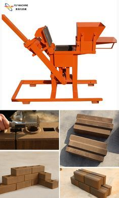 interlocking brick making machine can produce various interlocking bricks by changing moulds. And it can produce 960 pieces bricks per day. Building Design, Building A House, Earth Bag Homes, Rammed Earth Homes, Interlocking Bricks, Brick Pathway, Recycled Brick, Diy Cabin, Brick Molding