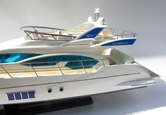 The Great Site about High Quality Replica Wooden Model Ship Ready for Display Azimut Yachts, Nautical Furniture, Alfa Alfa, Speed Boats, Model Ships, Battleship, Display Case, Fishing Boats, Sterne