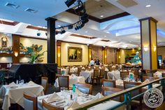Dining room at Churrascaria Plataforma in NYC, New York