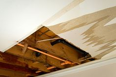 Don't panic over water damage in your home – these tips can help you repair water damaged walls and ceilings