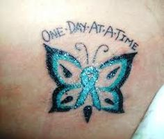 Love this but different wings and I would put diagnosis date on top and beat it date on bottom because I will beat this