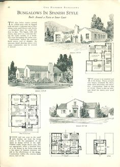 1927....100 bungalows of frame and masonry construction.