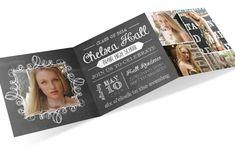 Graduation Invite Custom Printable PDF by emilyedsondesign