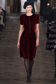 Are Velour Dresses For Women In For 2013 Fall Fall RTW Runway