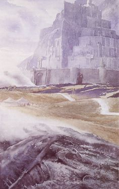 Minas Tirith, Alan Lee