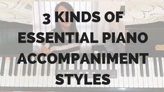 3 Kinds of Essential Piano Accompaniment to eradicate staleness when playing repetitively on the keyboard (during long altar calls or free worship sessions) — The Inspired Keyboardist Keyboard Tutorial, Learn Piano Beginner, Playing Piano, Visual Aids, Music Therapy, Greatest Songs, Music Lessons, Say Hi, Holy Spirit
