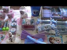 Enfeite De Mesa Elsa - Decorando com Papel - YouTube