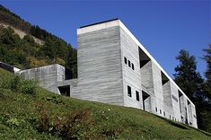 Therme Vals facade, Vals, Graubünden, Switzerland - 20051009 - Peter Zumthor - Wikipedia, the free encyclopedia