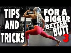 Secret to a Butt and It's NOT Squats Part 3 (has some repeats of prev mentioned exercises) | Jen Heward