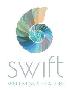 Brand new logo for the beautiful Barbara Swift of Swift Wellness & Healing… Wc Logo, Logo Branding, Branding Design, Massage Websites, Massage Logo, Massage Business, Yoga Logo, Reiki, Wordpress Website Design