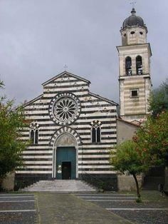 Church of Levanto, Italy.