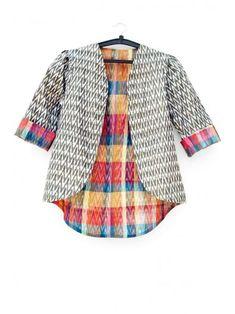 Ikat Summer Jacket