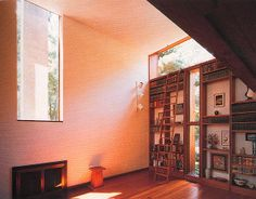 Esherick House. 1961. Philadelphia, Pennsylvania, Louis Kahn.