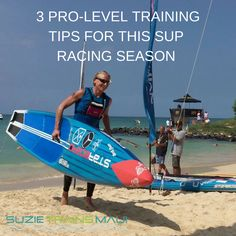 These are my 3 pro-level, winning training tips for this SUP season and 3 big winning game-changers to help you smash it this year. I have lots of Sup Paddle, Sup Surf, Race Training, Training Tips, Surfer Workout, Sup Racing, Indoor Workout, Offshore Wind, Standup Paddle Board