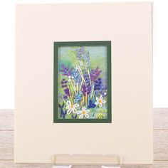 Rowandean Lavender Minature Embroidery Kit #embroidery #crafts #inspiration #crafting #needlecraft #sewing #creative #lavender #flowers