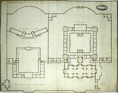 Plasy monastery - original ground plan