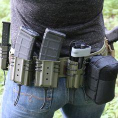 The best tactical gear on the planet. Kydex Holster, Tactical Belt, War Belt, Battle Belt, Combat Gear, Tac Gear, Chest Rig, Tactical Equipment, Military Gear