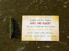 Maringoo Wedding Invitation Back Smurftastic Wedding Invitation