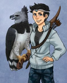 Thalia Grace and just a harpy/eagle Percy Jackson Fandom, Percy Jackson Fan Art, Percy Jackson Memes, Percy Jackson Books, Thalia Grace, Jason Grace, Magnus Chase, Hunter Of Artemis, Percabeth