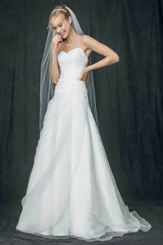 Beautiful dress on sale for $99...of course it's out of stock. Plus I'm not even engaged so I'm not sure why I'm upset.