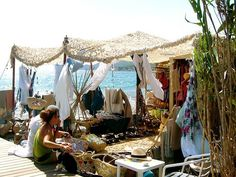 sea tent