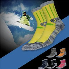 Men Women Ski Hiking Socks Thick Cotton Thermal Ankle Socks For Outdoor Sports Hiking Socks, Other Countries, Ankle Socks, Men And Women, Trekking, Marathon, Skiing, Sports, Cotton