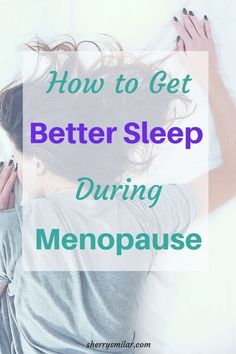 natural sleep remedy Lack of sleep is one thing that menopausal women complain about. There are health concerns with not getting enough sleep, but there are ways you can improve your sleep. How Can I Sleep, Ways To Sleep, How To Sleep Faster, Sleep Help, Good Sleep, Sleep Better, Menopause Diet, Menopause Relief, Menopause Symptoms