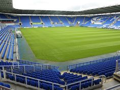 Madejski Stadium, Reading - has good conference facilities with light, spacious and bright airy rooms overlooking the pitch Watford Fc, British Football, Conference Facilities, Sports Stadium, Football Stadiums, Airy Rooms, Golf Courses, Reading, Pitch