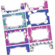 Etichette per barattoli da stampare - PDF modificabili! Quasiorganizzata.it Planner, Big Shot, Diy And Crafts, Printables, House, Ideas, Home Decor, Bricolage, Home