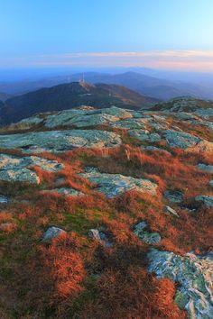 ✯ Mount Mansfield Alpine Zone in Autumn - Vermont