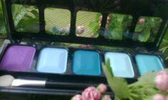 pięć idealnie dobranych kolorów w paletce Ingrid Cosmetics