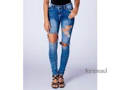 f544bbd8c4c Dámské roztrhané džíny - TOP pro módní duši