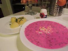 Lithuanian food - saltibarsciai