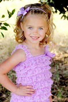 Girls Hairbows - Purple Hairbow Headband - Flower Girl Headband - Hairbow Clip - Purple Satin Hairbow - Flower Girl Headpiece - Lavender Bow