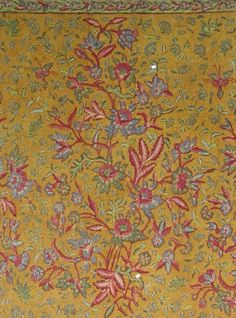 Batik Tiga Negeri, signed by Tjoa Siang Lie. Heritage from Javanese, handrawn and rare production.