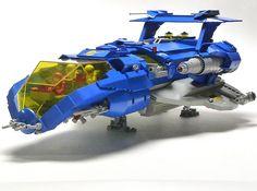Classic lego spaceship