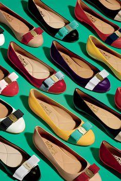 Ferragamo Varina Flats #Fashion