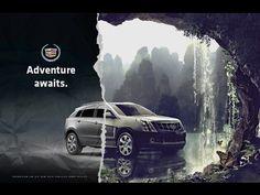 Cadillac – Adventure Awaits – Imola Dobai – Join the world of pin Print Advertising, Print Ads, Poster Prints, Advertising Campaign, Ads Creative, Creative Advertising, Advertising Ideas, Cadillac, Ad Design