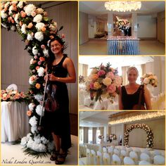 Fantastic Asian wedding at the Grove Hotel - Niche Quartet played for the ceremony and lunch. #weddings #asianwedding #flowers #weddingflowers
