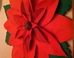 Flor gigante de papel Dahlia trío juego de 3 por FantasyinFlorals