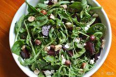 Beetroot, hazelnut & feta salad