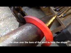 Shoemaking - the Trainee Farrier