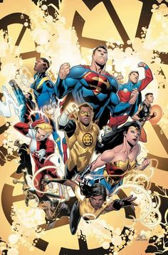 Dc Comics, Dc World, Legion Of Superheroes, Justice League, Movie Posters, Movies, Marvel, Art, Art Background
