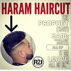 Spread the knowledge To The Muslims Who Do Not Know And Believe That This Is Merely A Haircut. Islam Muslim, Islam Quran, Islam Hadith, Alhamdulillah, Muslim Quotes, Religious Quotes, Ali Quotes, Best Quotes, Prophet Muhammad Quotes