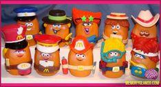 Remember McDonalds, The McNugget Buddies!!!! I do!!
