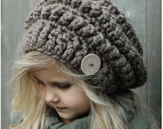 Crochet PATTERN-The Stormlyn Slouchy (Toddler, Child, and Adult sizes)