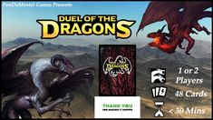 Duel of the Dragons by FunDaMental Games — Kickstarter Become a powerful dragon in this 2 player or Solo card game with strategic methods of combat and card playing to battle your opponent